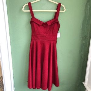 NWT ModCloth Ixia Pin Up Retro Style Dress Large